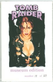 Tomb Raider Journeys #1 Museum Edition Adam Hughes Cover Ltd 25 Jay Company